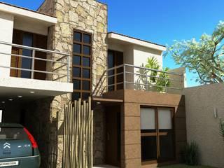 Proyecto de Remodelación y cambio de fachada Casas modernas: Ideas, imágenes y decoración de Valy Moderno
