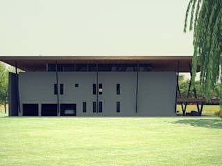 Residenza unifamiliare: Case in stile in stile Moderno di Studio Pinelli Architetti