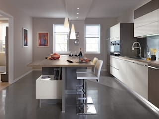 Modern Kitchen with Island by Schmidt Schmidt Kitchens Barnet Modern Kitchen Beige