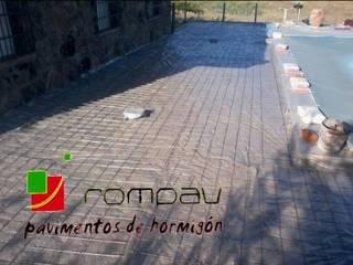 Pavimentos de hormigon impreso de Rompav hormigon impreso