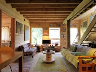 Living room by Kanda arquitectos