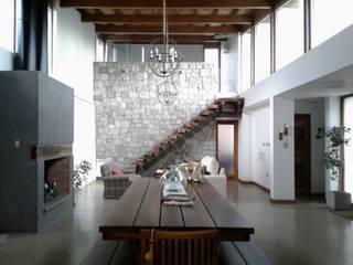 Modern living room by Azcona Vega Arquitectos Modern