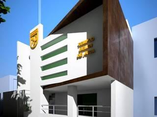 : modern Houses by GALICIA AV Arquitectura más Virtual