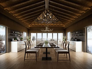 Wonstudios Architectural Rendering Services:  Gastronomy by Wonstudios-