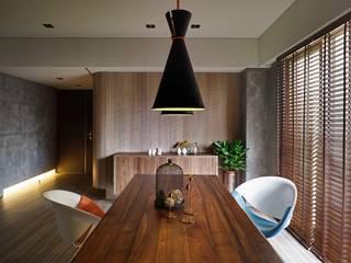 Modern living room by 晨室空間設計有限公司 Modern