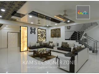 Home interior design for Kiran : classic  by KAM'S DESIGNER ZONE,Classic