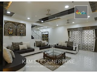 Home interior design for Kiran : colonial  by KAM'S DESIGNER ZONE,Colonial