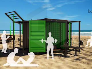 Container Gym por BOXCODE