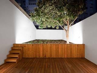 Tiago Filipe Santos - Arquitetura Minimalist style garden White