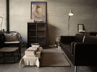 Eclectic style living room by 日常鉄件製作所 Eclectic