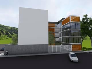 Perspectiva - Entrada Secundária:   por Nimbus | Arquitetura