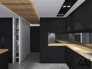 Cocinas de estilo moderno de Agence 4ai Moderno