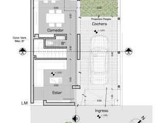BÚNKER URBANO: Vivienda AS2: Casas de estilo  por síncresis arquitectos