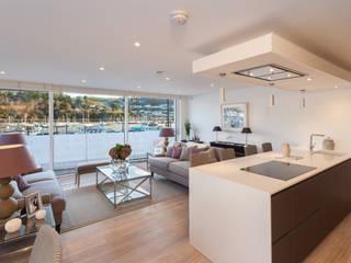 The Sails Cocinas de estilo moderno de Greengage Interiors Moderno