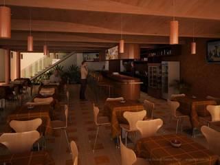 Gastronomía de estilo moderno de GALICIA AV Arquitectura más Virtual Moderno