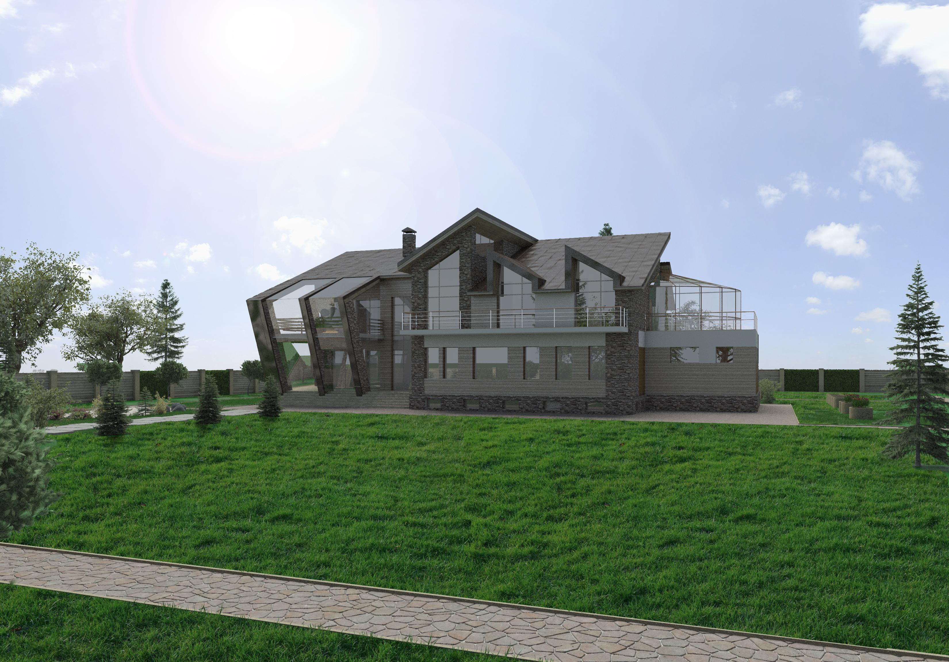 Casas modernas de BMM Moderno