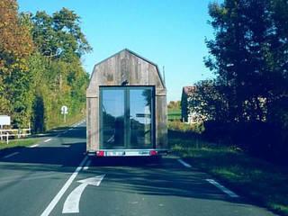 Tiny House: Maisons de style de style Industriel par Ophélie Dohy architecte d'intérieur