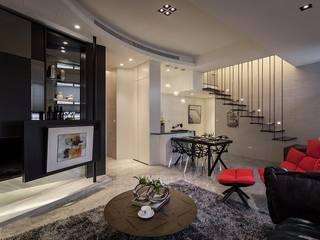 Dining room by 你你空間設計, Modern