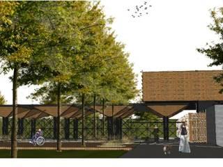 ALT. Altaria: Casas de estilo moderno por Arq German Tirado S