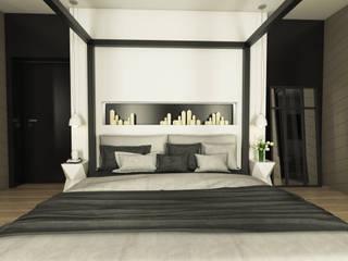 Dormitorios de estilo moderno de emc|partners Moderno