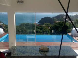 Vista: Piscinas  por Aroeira Arquitetura