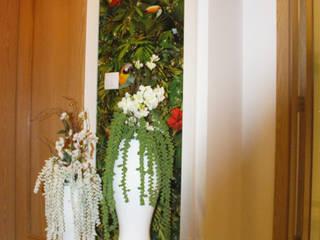 """Consultoria em Decoração - Hall de Entrada """"ECLECTIC TOUCH"""" :   por Andreia Louraço - Designer de Interiores (Contacto: atelier.andreialouraco@gmail.com)"""