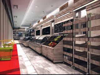 УРОЖАЙ. Фермерский рынок: Торговые центры в . Автор – Veronika Brown Studio