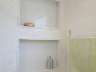 Casa Mansões: Banheiros  por Priscila Boldrini Design e Arquitetura