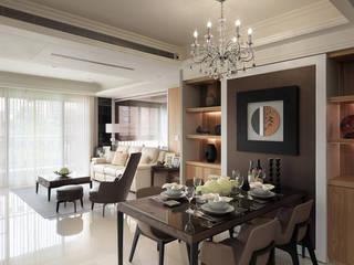 大集國際室內裝修設計工程有限公司 Classic style dining room