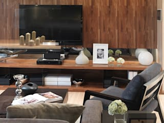 Modern Living Room by 大集國際室內裝修設計工程有限公司 Modern