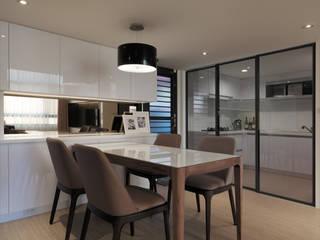 โดย 大集國際室內裝修設計工程有限公司 โมเดิร์น
