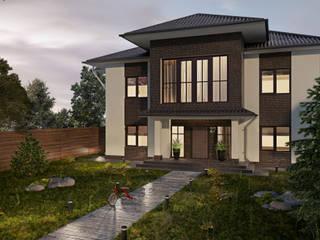 Дом в классическом стиле Дома в классическом стиле от OBJECT Классический