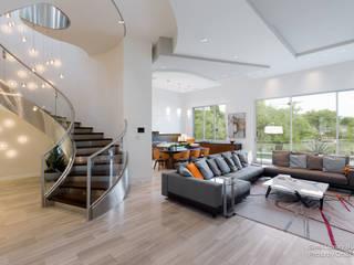 Ruang Keluarga Modern Oleh Chibi Moku Modern