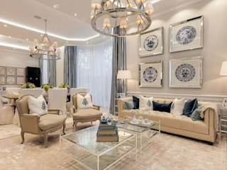 House renovation in Holland park Modern Living Room by APT Renovation Ltd Modern