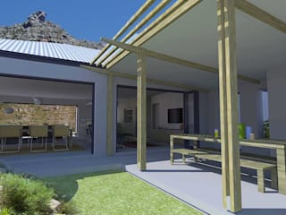 House alteration project in Hout Bay 2011 by Till Manecke:Architect Modern