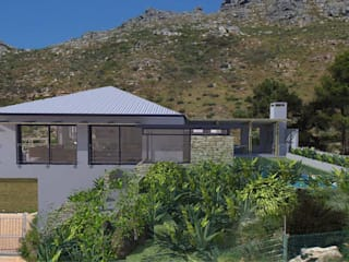 House alteration project in Hout Bay 2011 Modern houses by Till Manecke:Architect Modern
