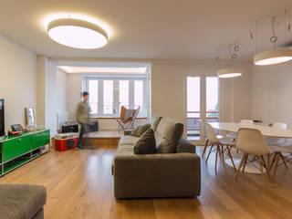 salón comedor: Salones de estilo  de Ecoproyecta