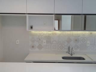 Cozinha - B&M - Jardins Life Residence - Guará - Brasília Cozinhas modernas por Brasilia Design de Interiores Moderno
