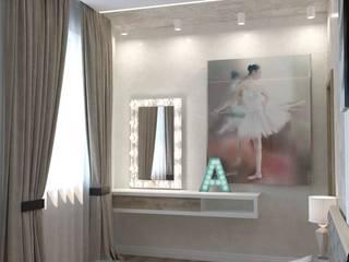 Хозяйская спальня (г.Волгоград) ЖК Арбат Спальня в стиле минимализм от DS Fresco Минимализм