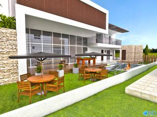 Modern houses by FARO ARQUITETURA LDTA-ME Modern