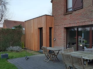 Casas de estilo minimalista de Tristan Bacro Design d'Espace Minimalista