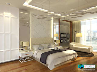 por Axis Group Of Interior Design Moderno