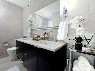 Salle de bains de style  par KBR Design and Build, Minimaliste