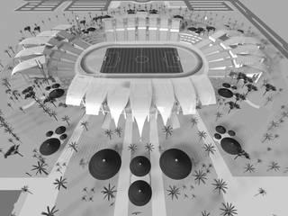 Estádio Welwitcshia - CAN 2010 - Angola:   por Jorge Lopes, LABORATÓRIO DE ARQUITECTURA