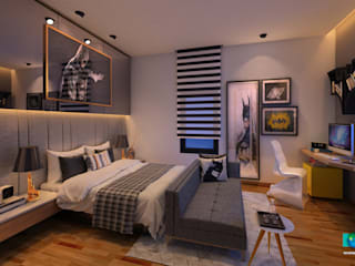 Bedroom Interior Design 3:  Bedroom by Axis Group Of Interior Design
