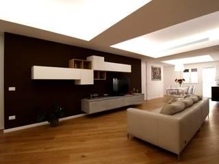 Salones de estilo minimalista de Giuseppe Rappa & Angelo M. Castiglione Minimalista