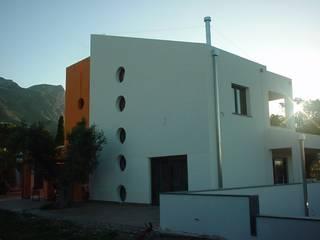 Giuseppe Rappa & Angelo M. Castiglione Дома в стиле модерн Белый