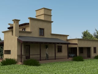 Proyecto de remodelación y ampliación de Vivienda unifamiliar: Casas de estilo  por Valy,Colonial