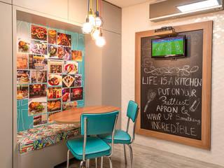 Apartamento Arte Bela Vista Cozinhas modernas por Quadrilha Design Arquitetura Moderno