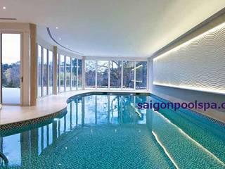 Tư vấn thiết kế bể bơi trong nhà:   by Saigonpoolspa